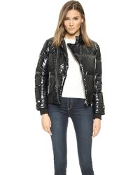 Marc By Marc Jacobs Puffa Coat  Black - Lyst