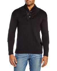 G-star Raw Process Shawl Collar Sweater - Lyst