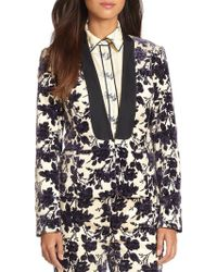 Tory Burch Dayton Stretch Cotton Jacket - Lyst