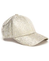 Acne Camp Glitter Baseball Cap - Lyst