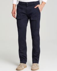 Paige Jeans Cargo Slim Fit in Mirage Blue - Lyst