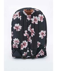 Obey - Floral Outsider Backpack in Black - Lyst
