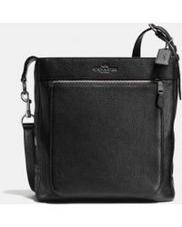 Coach Wyatt Field Bag in Pebbled Leather - Lyst