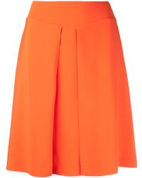 Rochas Orange Aline Skirt - Lyst