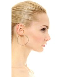 Pascale Monvoisin - Carla Hoop Earrings - Gold/turquoise - Lyst