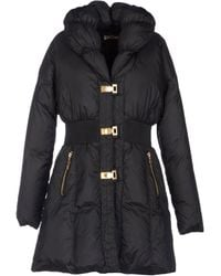 John Galliano Black Down Jacket - Lyst