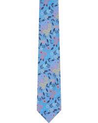Duchamp Flower Garden Silk Jacquard Neck Tie - Lyst