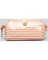 Tory Burch Cosmetic Case Large Molded - Lyst