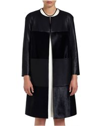 Mulberry Blue Lizzie Coat - Lyst