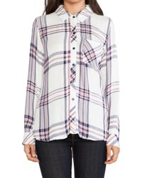 Rails Hunter Button Down - Lyst