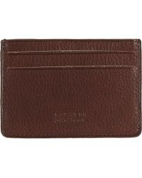 Barneys New York Card Case brown - Lyst