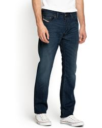 Diesel Mens Larkee 814w Relaxed Fit Jeans - Lyst