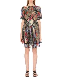 Zimmermann Trinity Cotton And Silk-Blend Dress - For Women - Lyst