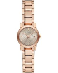 Burberry The City Rose Gold-toned Stainless Steel Watch - Lyst