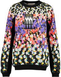 Peter Pilotto - Printed Cotton Sweatshirt - Lyst