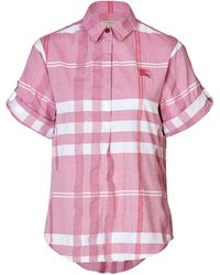 Burberry Brit Cotton Check Shirt - Lyst