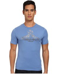 Vivienne Westwood Man Orb Safety Pin T-Shirt - Lyst