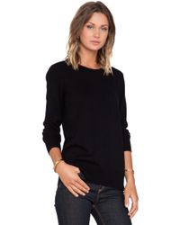 Rag & Bone Black Natalie Sweater - Lyst