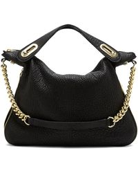 Vince Camuto Claire Leather Satchel - Lyst
