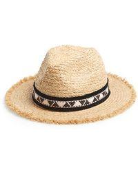 Maison Scotch - Straw Hat - Lyst