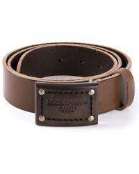 Dolce & Gabbana Belt - Lyst