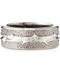 Stephen Webster Highwayman Silver-Band Ring - Lyst