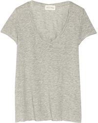 American Vintage Jacksonville Cottonblend Jersey Tshirt - Lyst