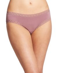 Natori Foundations Bliss Girl Brief pink - Lyst