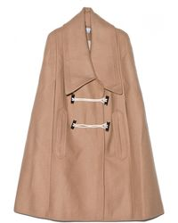 Carven B Toggle Cape - Lyst