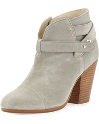 Rag & Bone Harrow Leather Ankle Boot - Lyst