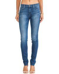 Joe's Jeans Soo Soft Mid Rise Skinny - Lyst