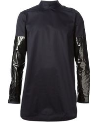 Damir Doma Contrasting Sleeves Shirt - Lyst
