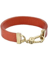 Marc By Marc Jacobs Key Items Simple Leather Bracelet - Lyst