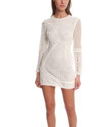 Zimmermann Anais Lace Dress white - Lyst