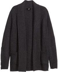 H&M Cardigan in A Wool Blend - Lyst