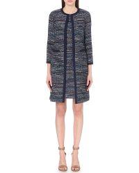 Diane von Furstenberg | Nalda Woven Tweed Coat | Lyst