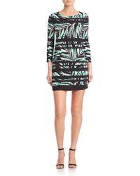 BCBGMAXAZRIA   Noely Stretch Jersey Dress   Lyst