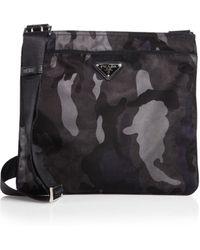 Prada Tessuto Camouflage Small Crossbody Bag - Lyst