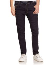 Diesel Krooley Tapered-Leg Jogger Jeans blue - Lyst