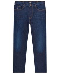 Armani Jeans - Regular Fit Contrast Stitch Jeans - Lyst