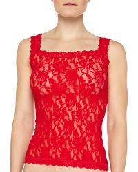 Hanky Panky Sheer Floral Lace Camisole - Lyst