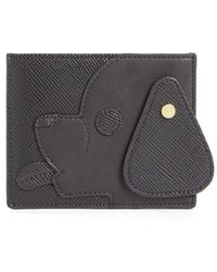 Opening Ceremony | 'dog' Saffiano Leather Card Case | Lyst