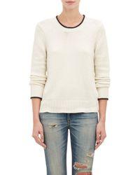 Rag & Bone Tipped Pullover Annette Sweater - Lyst
