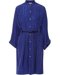 Matthew Williamson Silk Shirt Dress - Lyst