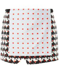 Thakoon Addition Printed Wrapfront Skirt - Lyst