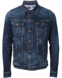 Diesel Slim Fit Jacket - Lyst