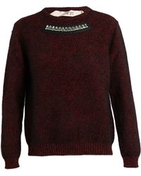 No 21 Jeweled Sweater - Lyst