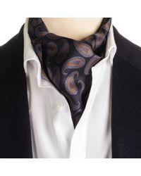 Black.co.uk - Capriana Ascot Cravat Tie Description Delivery & Returns Reviews - Lyst