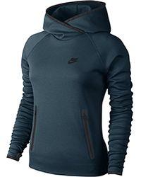 Nike Tech Fleece Funnel W - Lyst