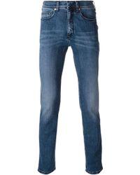 Neil Barrett Washed Skinny Jeans - Lyst